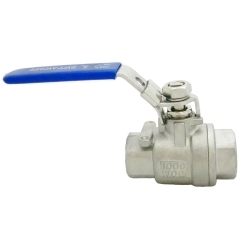 2 PC Threaded Ball Valve