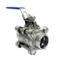 3 PC Socket Weld Ball Valves Catalogue