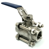 3 PC Threaded Ball Valves Catalogue