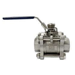 3 PC Socekt Weld Ball Valve