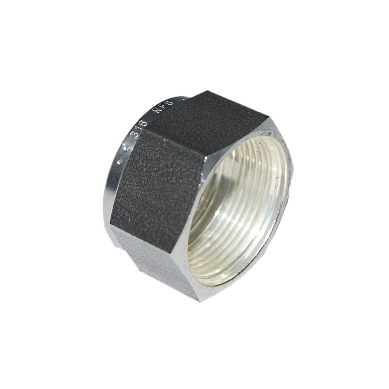 Stainless Steel Flareless Nut