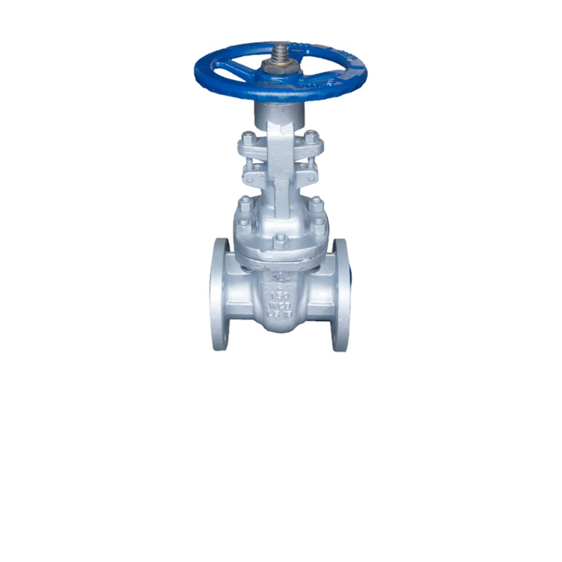 ANSI 150# Cast Steel Flange End Gate Valve - 2