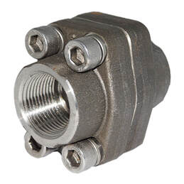 Threaded SAE Flange