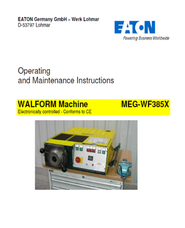 Walform Machine MEG-WF385X